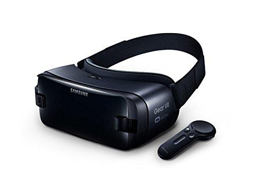 Galaxy Gear VR 【2019年版 Galaxy S10+, S10, S10e, S10 5G, Note9, S9, S9+, Note8, S8, S8+ 対応】 SM-R3250, Samsung 純正品, 専用コントローラ付き