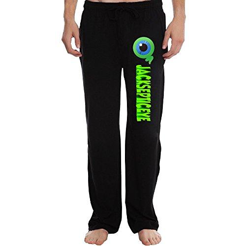 PTR Men's Jacksepticeye Workout Pants Color Black Size M