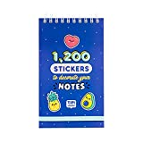 Mr. Wonderful Pad with special stickers - Tipi Studio