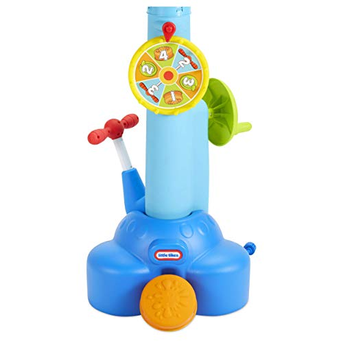 Little Tikes Fun Zone Pop 'N Splash Surprise Game for Kids + Balls, Multicolor