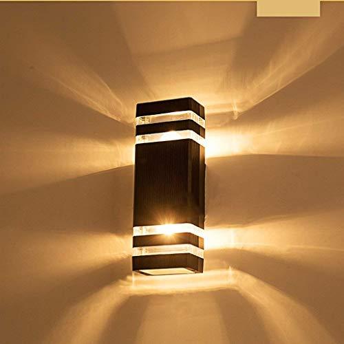 Outdoor LED muur waterdichte tuinverlichting moderne minimalistische creatieve buitenverlichting trapverlichting deurverlichting balkonverlichting