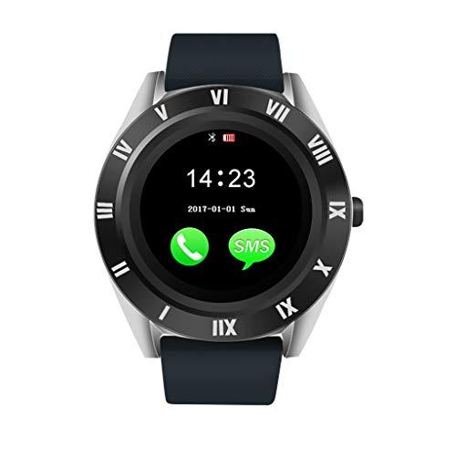 LQIAN Blueteeth Smart Watch Fitness Tracker Sportuhr Mit SchrittzäHler, Pulsmesser, Kamerasteuerung, Kamera Phone Mate 4g GSM SIM Tf Ca Kompatibel mit Android Kompatibel mit Samsung