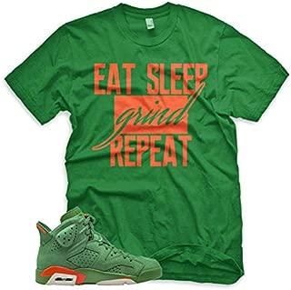 Green GRIND T Shirt for Jordan 6 VI Gatorade Suede PRM Be Like Mike