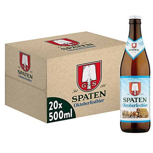 Spaten Oktoberfest Birra, Bottiglia - Pacco da 20 x 500 ml
