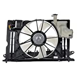 AutoShack FA721540 Radiator Cooling Fan Assembly Replacement for 2014-2019 Toyota Corolla 1.8L