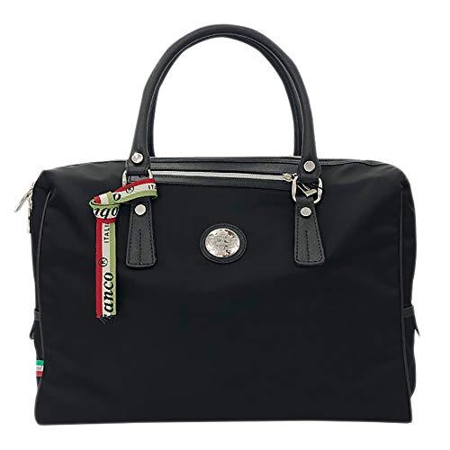 [OROBIANCO] ビジネスバッグ SITRAK-C NYLON SAFFIANO 並行輸入品 [オロビアンコ] バッグ ブリーフケース メンズ ブランド 通勤 鞄 リクルート [イタリア製] (NERO/ブラック)