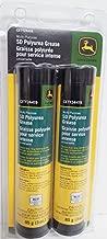 John Deere SD Polyurea All-Purpose Grease (2 Tubes) Fits Mini Grease Gun