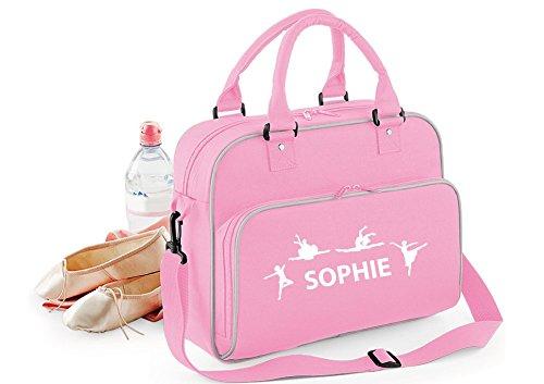 Personalisierbare Sporttasche für Mädchen, Pink