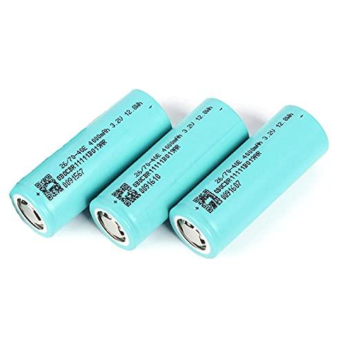 3 pcs 3.2v 26700 Lithium-Ionen 4000mah Akku, für Elektrische Fahrradkamera Taschenlampe Smart Charger Projektor