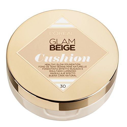 L'Oréal Paris Glam Beige Cushion Healthy Glow Foundation Nr. 30 Medium Light Inhalt: 14,6g Make Up für ein tolles Hautbild.
