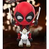 Muñeca Deadpool 2 de la Serie X-Men Deadpool Mini muñecas de colección pequeña Carry Modelo de...