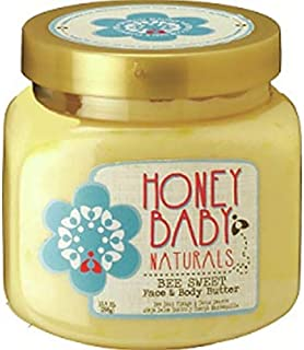 Honey Baby Naturals Bee Sweet Face & Body Butter ,10.5 oz(pack of 1)