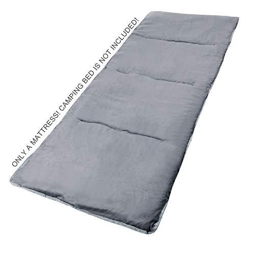 REDCAMP Feldbettauflage für klappbares Faltbare Campingbett Bettauflage 190x75cm...