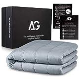 AG Couverture lestée de qualité supérieure pour adulte, 120 x 183 cm, couverture lourde pour enfants, couverture de...
