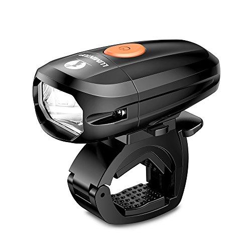 LUMINTOP C01 自転車ライト LEDヘッドライト IP68 完全防水 USB充電式 1400mAh 明るさ5400カンデラ 連続点...