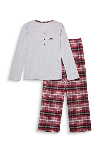 ESPRIT Mädchen KELA YG NW KOMBIPYJAMA Zweiteiliger Schlafanzug, Rot (Dark Red 610), (Herstellergröße: 164)