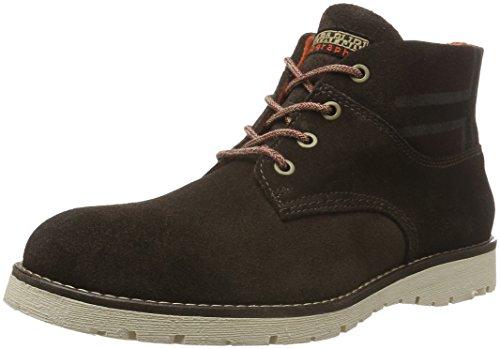 NAPAPIJRI FOOTWEAR Herren Trygve Desert Boots, Braun (Dark brown N46), 45 EU