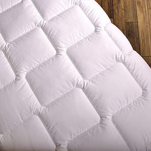 Wendre leichte Sommerdecke für die warme Jahreszeit | 135x200 cm Bettdecke - Atmungsaktiv & Pflegeleicht | Weiche Steppdecke für den Sommer - Ideal für Allergiker | 135 x 200 Sommerbettdecke