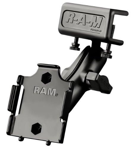 Ram Mount Universal Glare Shield Clamp Mount for Apple iPod Nano 3G 3rd Generation (Black)
