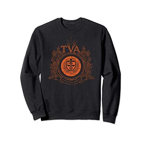 Marvel Loki Time Variance Authority TVA Badge Felpa