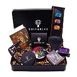 Guitar Lab Coffret cadeau d'accessoires de guitare | médiators en étain,...