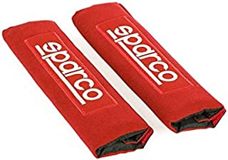 SPARCO Seat Belt Pads Set, Red, Spc1205Rd
