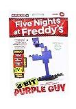 McFarlane Toys Five Nights at Freddy's - Purple Guy 8-Bit Buidable Figure