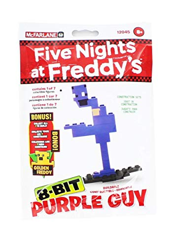 Five Nights at Freddy's 8-Bit Buildable Figure: Purple Guy