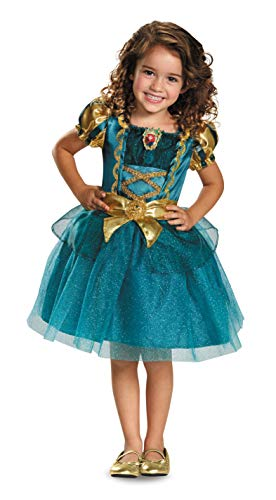 Disguise Disney Princess Merida Brave Toddler Girls' Costume One Color, Small (2T)