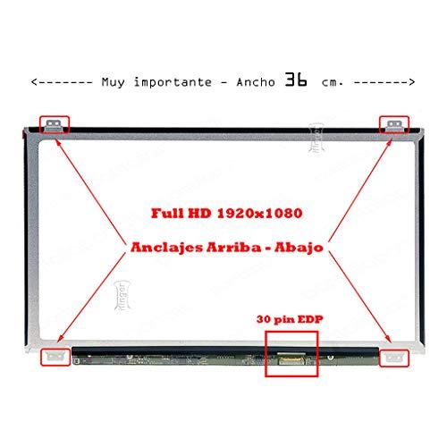 IFINGER Pantalla Compatible DE Y para PORTATIL Acer Aspire 3 A315-51-348Z 15,6 WUXGA 1920x1080 Full HD LCD LED 30 Pin EDP Ver Foto