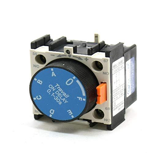New Lon0167 Contactor Auxiliar Destacados C-LA2-D22.A65 1NO 1NC eficacia confiable 0.1-30s Temporizador...