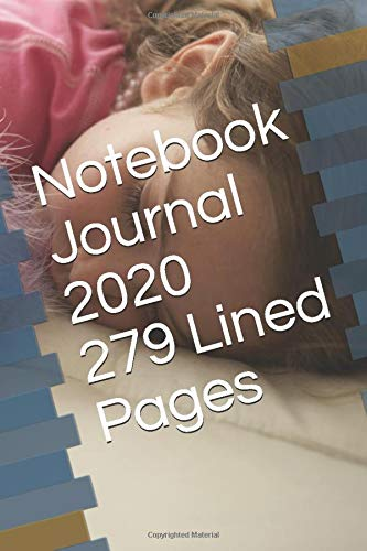Notebook Journal 2020, 279 Lined Pages Notebook, 6x9