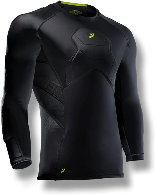 Storelli mens Bodyshield Cheap bargain Goalkeeper Max 85% OFF 3 Undershirt 4