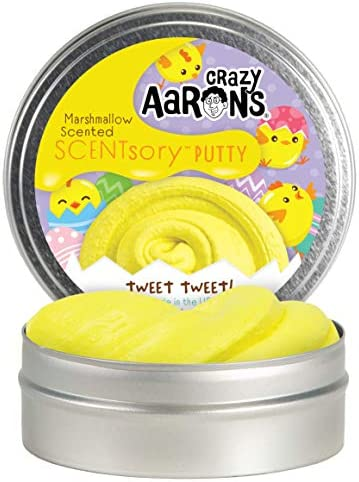 Crazy Aaron s Easter SCENTsory Tweet Tweet Marshmallow Scented Easter Gift Basket Addition Scented product image
