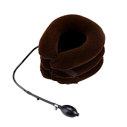 GOTOTOP Aufblasbares Kopfkissen, Nackenstütze, zur Schmerzlinderung von Muskeln