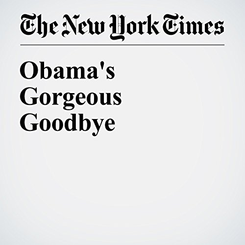 Obama's Gorgeous Goodbye cover art