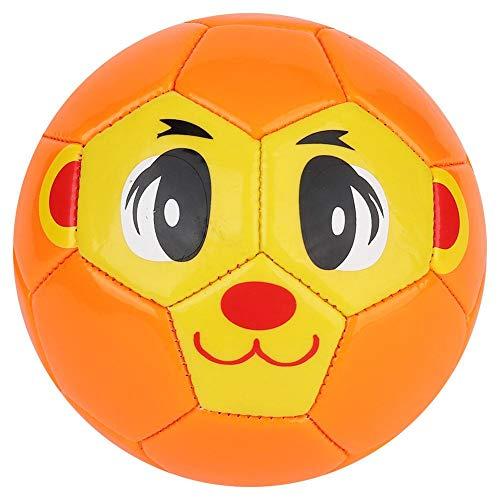 Speelgoed voetbal, kinderen speelgoed voetbalballen voor buiten binnenshuis spelen kinderen sportwedstrijd opblaasbare bal mooie cartoon afbeelding voetbal voor kinderen studenten 13cm/5.1inch