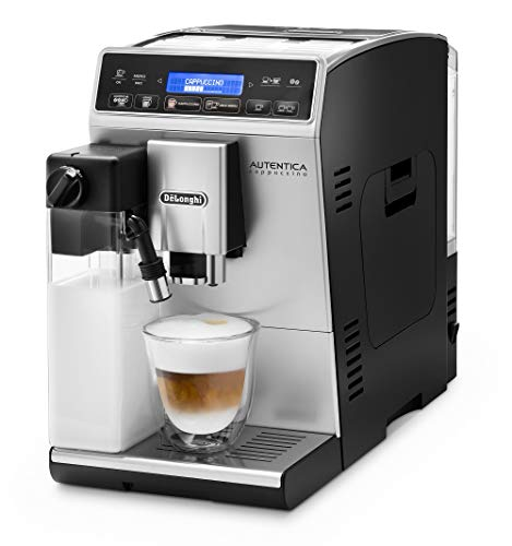 DeLonghi ETAM 29660SB Autentica Super Fully Automatic Espresso Machine with Latte Crema System, Silver