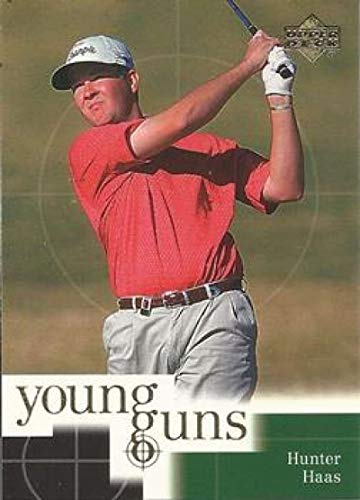 2001 Upper Deck Golf #71 Hunter Haas RC Rookie Young Guns Official Trading Card