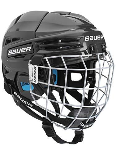 Bauer Prodigy Hockey Helmet Combo Youth, Black