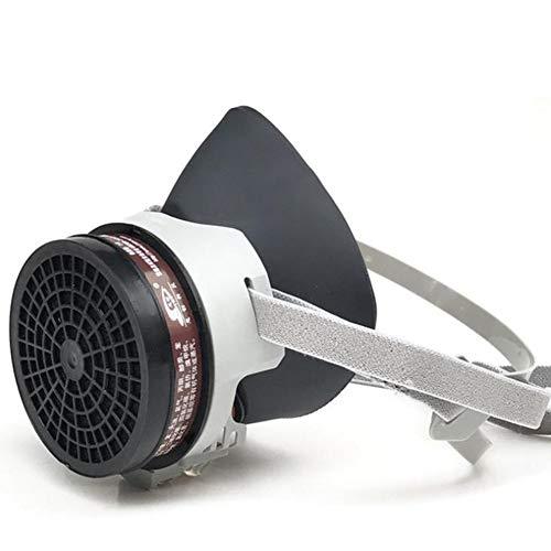 TX Máscara De Gas De Cara Completa De Goma Pintura En Aerosol Equipo De Protección De La Industria Química
