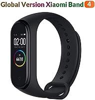 Xiaomi Band 4 Global Version Smartwatch, 2,4 cm (0,95 inch), AMOLED-kleurendisplay, unisex, zwart