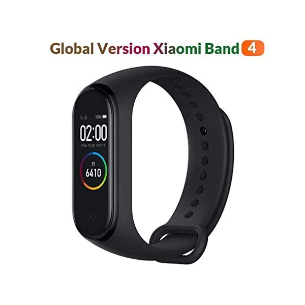 Original Xiaomi Smart Band 4, Adultos Unisex, Negro, Talla única 1