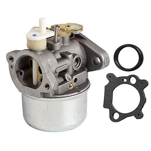 Behive Filter OxoxO Nouveau Carburateur Carb w/Gasket and Choke pour Briggs & Stratton 792253 497586 499059 - Rotary 14112 Oregon 50-658 - Briggs & Stratton Carburetor 799869