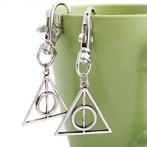 Preisvergleich Produktbild Leaftree - Magie Harry Potter Heiligtümer des Todes Mini Metall Werkzeug Schlüsselanhänger Schlüsselanhänger Geschenk heiß