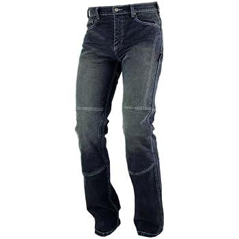 Pantalon Jeans Denim Renforts Protections CE Coton 100/% Homme Sport bleu 36