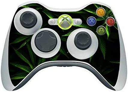 Homie Store Green Weed Skin Sticker Outstanding PS4 for Sony Controlle Cover Over item handling ☆
