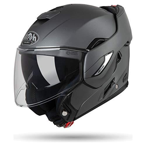 AIROH Unisex– Erwachsene REV 19 Helmet, Color ANTHRCITE MATT, XL