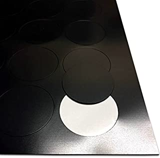 The Magnet Shop Self Adhesive Magnets For Crafts Magnetic Dots 50Mm 0.85mm thick (50mm round)