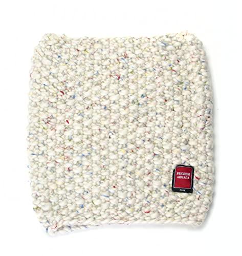 PREMIUMARMADA Bufanda de lana para mujer, 100 % lana, cálida, gruesa, para invierno, de punto Para nieve. Talla única